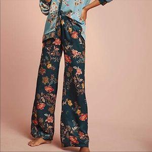 NEW Anthropologie Dormir Floral Sleep Pants XS